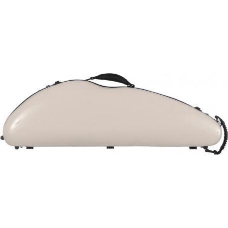 Geigenkoffer Glasfaser SafeFlight 4/4 M-case Perlgrau