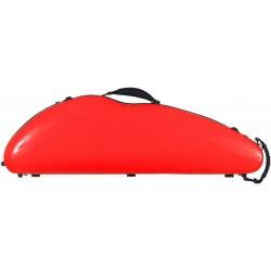 Étui en fibre de verre Fiberglass pour violon SafeFlight 4/4 M-case Rouge