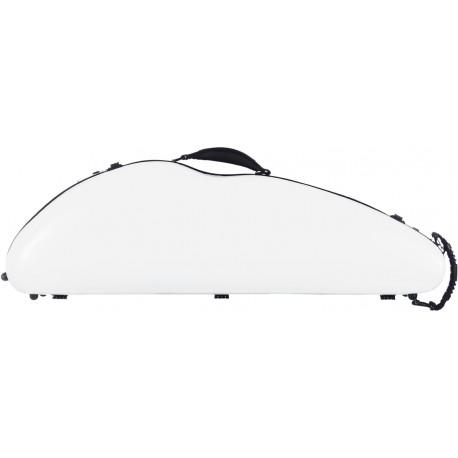 Étui en fibre de verre Fiberglass pour violon SafeFlight 4/4 M-case Blanc