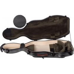 Étui pour alto en fibre de verre Fiberglass UltraLight 38-43 M-case Noir Point - Olive