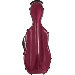 Étui pour alto en fibre de verre Fiberglass UltraLight 38-43 M-case Bordeaux Brillant