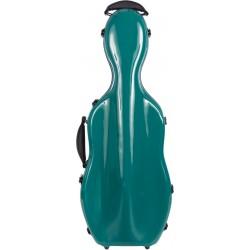 Étui pour alto en fibre de verre Fiberglass UltraLight 38-43 M-case Mer Verte