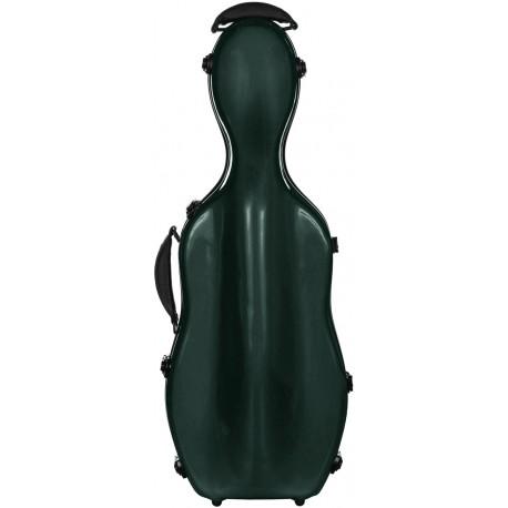 Étui en fibre de verre Fiberglass pour alto UltraLight 38-43 M-case Vert
