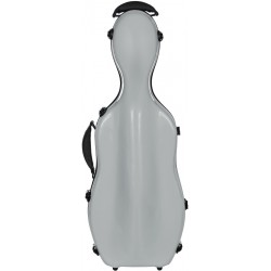 Fiberglass viola case UltraLight 38-43 M-case Silver