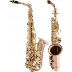 Saksofon altowy Es, Eb Fis Symphony M-tunes - Różowy Złoty