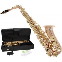 Saksofon altowy Es, Eb Fis MTSA1011RG M-tunes - Różowy Złoty