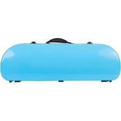 Étui pour violon en fibre de verre Fiberglass Street 4/4 M-case Bleu Ciel