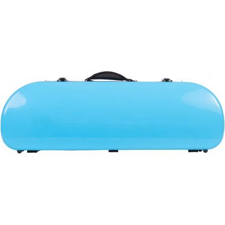 Half moon violin case Fiberglass Street 4/4 M-case Blue Sky