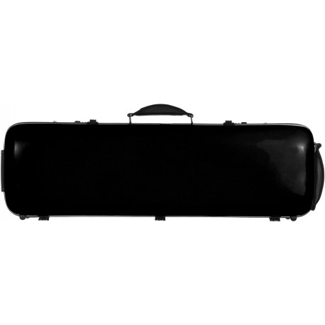 Fiberglass violin case Safe Oblong 4/4 M-case Black