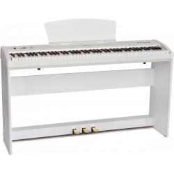 Pianino cyfrowe przenośne M-tunes mtP-9bk Białe