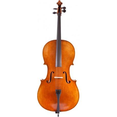 Wiolonczela 4/4 lutnicza M-tunes No.1100 drewniana - koncertowa