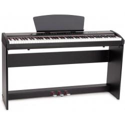 Elektronische tragbares Piano M-tunes mtP-55bk Schwarz E-Piano