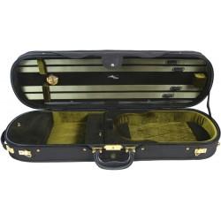 Futerał skrzypcowy skrzypce UltraLux 4/4 M-case Czarno - Zielony