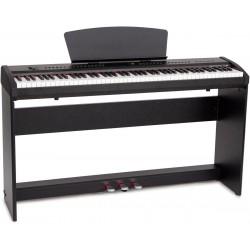 Elektronische tragbares Piano M-tunes mtP-65bk Schwarz E-Piano