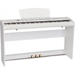 Piano numérique portable M-tunes mtP-55wh Blanc