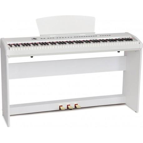 Digital portable piano M-tunes mtP-55wh White
