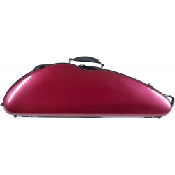 Étui en fibre de verre Fiberglass pour violon Safe Flight 4/4 M-case Bordeaux Brillant