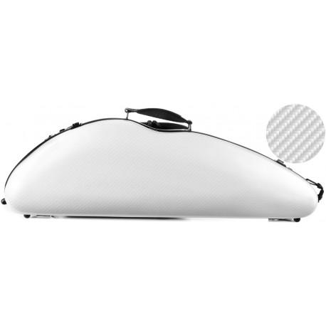 Fiberglass violin case Safe Flight 4/4 M-case Silver Special