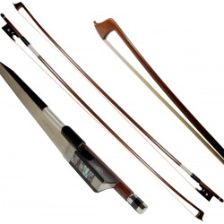 Archet de violon 1/4 bois du Brésil octogonale M-tunes Classic