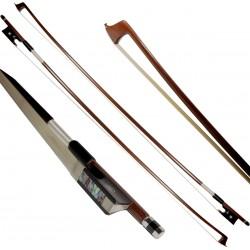 Smyczek skrzypcowy 1/4 drewniany ośmiokątny M-tunes Classic
