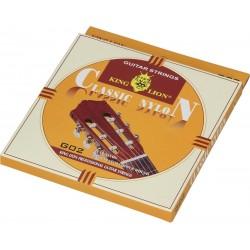 Cordes nylon pour guitare classique 4/4 King Lion G02