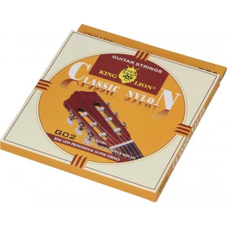 Nylon strings for classical guitar 4/4 King Lion G02