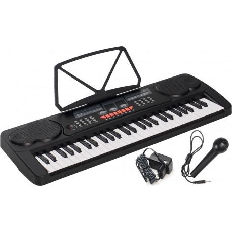 Electronic Keyboard 54 keys M-tunes MT-11 Black