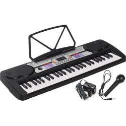 Electronic Keyboard 54 keys M-tunes MT-09 Black - Silver