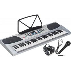 Keyboard 54 klawisze M-tunes MT-07 Srebrny