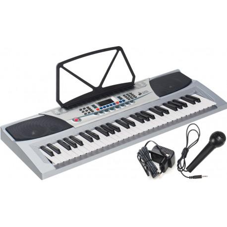 Electronic Keyboard 54 keys M-tunes MT-07 Silver