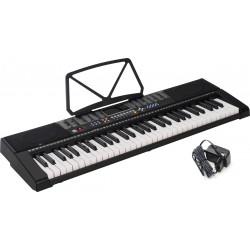 Clavier arrangeur Keyboard 61 Touches Lumineuses M-tunes MTL-90M Noir