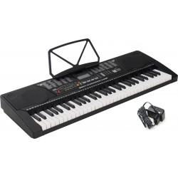 Electronic Keyboard 61 Keys Lighted M-tunes MTL-91M Black