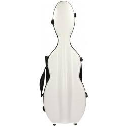 Fiberglass violin case UltraLight 4/4 M-case White