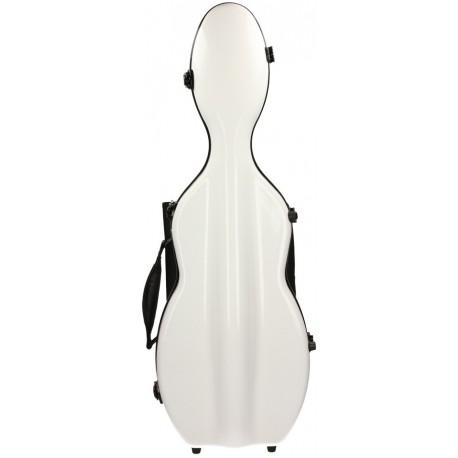 Étui en fibre de verre (Fiberglass) pour violon UltraLight 4/4 M-case Blanc