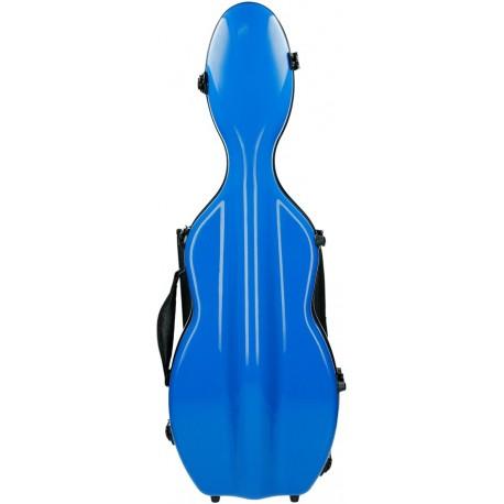 Fiberglass futerał skrzypcowy skrzypce UltraLight 4/4 M-case Niebieski Królewski