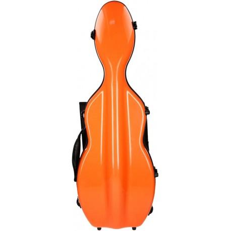 Fiberglass futerał skrzypcowy skrzypce UltraLight 4/4 M-case Pomarańczowy Jasny