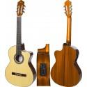 Elektro klassische gitarre