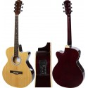 Elektro-akustische gitarre