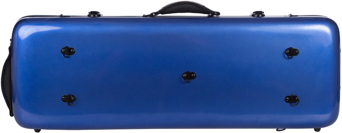 Details about UK Fiberglass viola case Oblong 38-43 M-case Blue