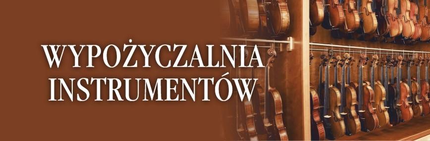 Wypożyczalnia instrumentów skrzypce wiolonczela altówka